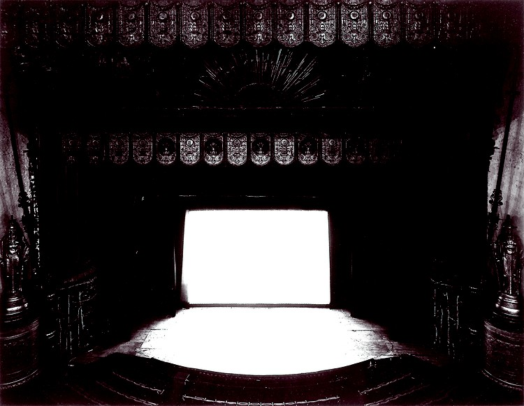 Sugimoto, Hiroshi, Fifth Avenue Theatre, Seattle, 1997. Gelatin silver print, 20 inches by 24 inches